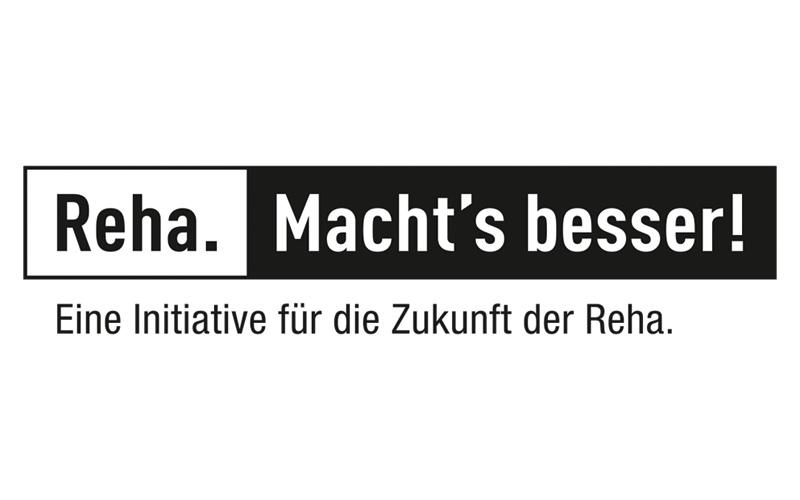 Logo Reha. Machts besser