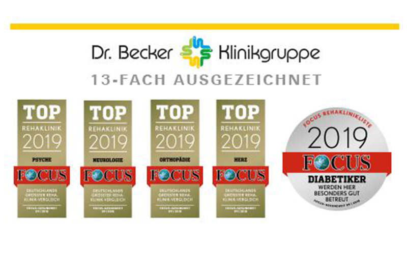 Dr. Becker Auszeichnungen