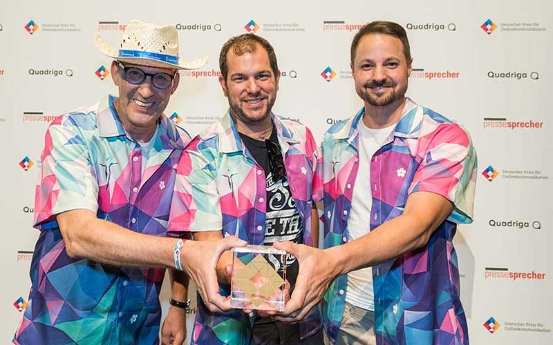 Johannesbad Gruppe gewinnt Deutschen Preis für Onlinekommunikation 2018 in der Branche Tourismus