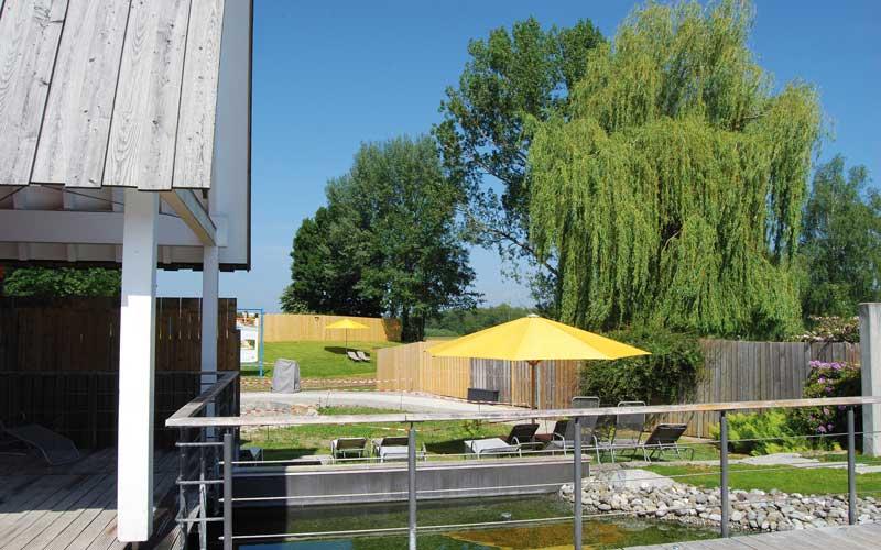 Erweiteter Saunagarten Bad Buchau