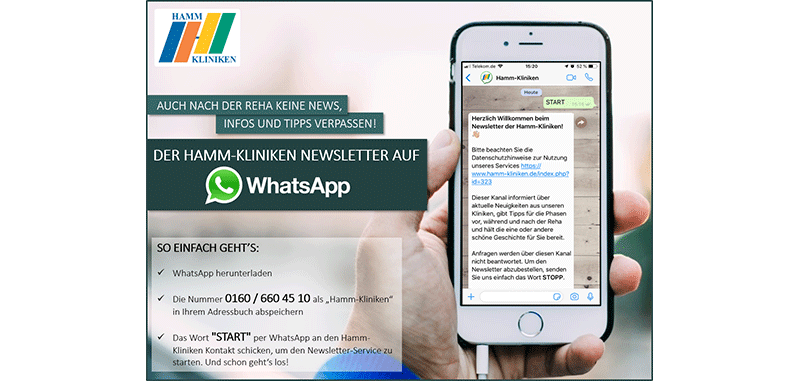 Hamm Kliniken WhatsApp