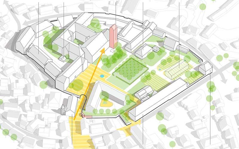 Konzept Bad Buchauer Schlossplatz