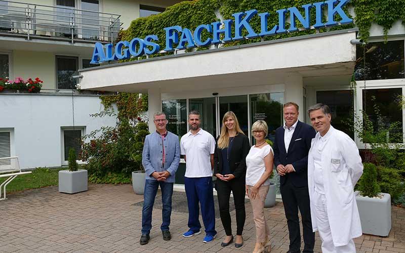 Politischer Besuch in der CELENUS Algos Fachklinik