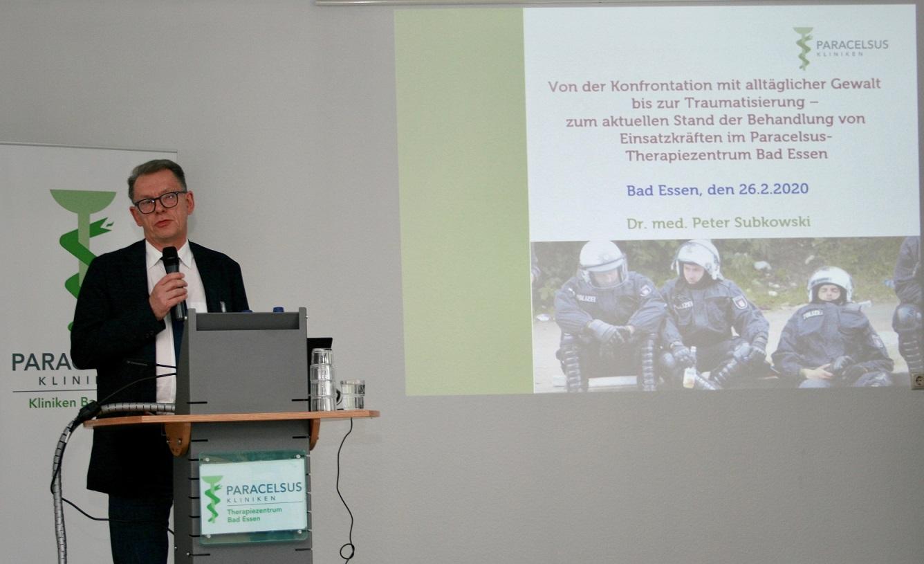 Einsatzkräftetagung Vortrag Dr. Subkowski