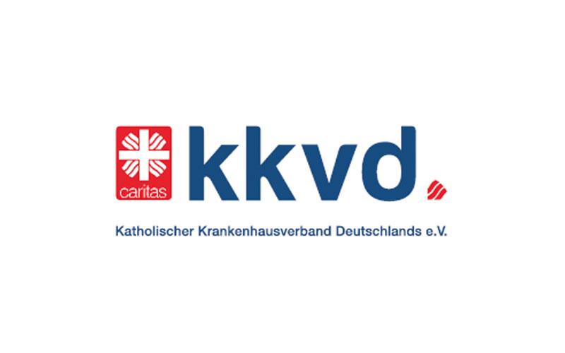 Katholischer Krankenhausverband Deutschlands e. V. (kkvd) - Logo
