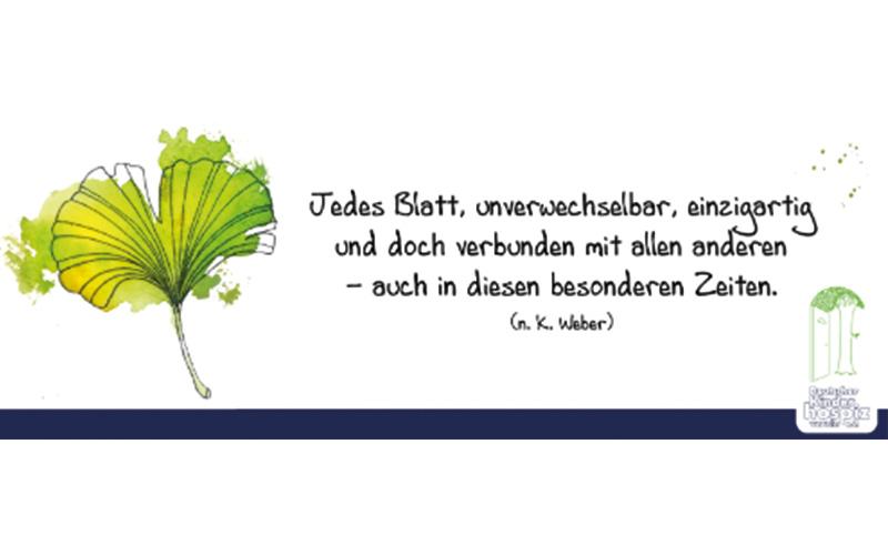 Deutscher Kinderhospizverein - Welthospiztag 2020