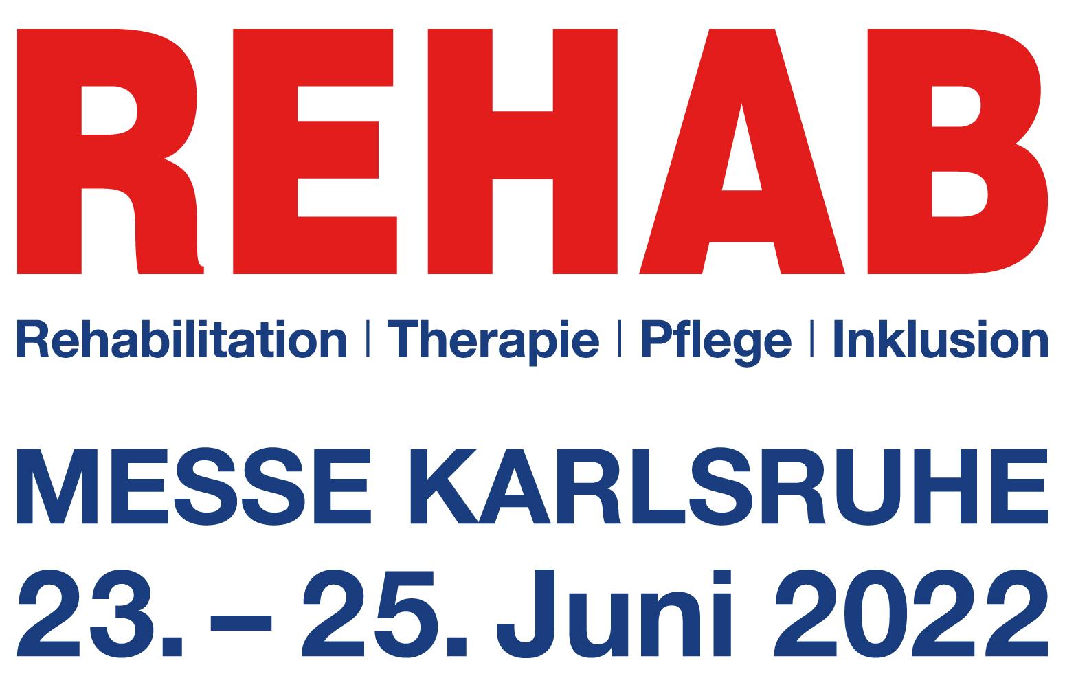 Rehab Logo Karlsruher Messe- und Kongress GmbH