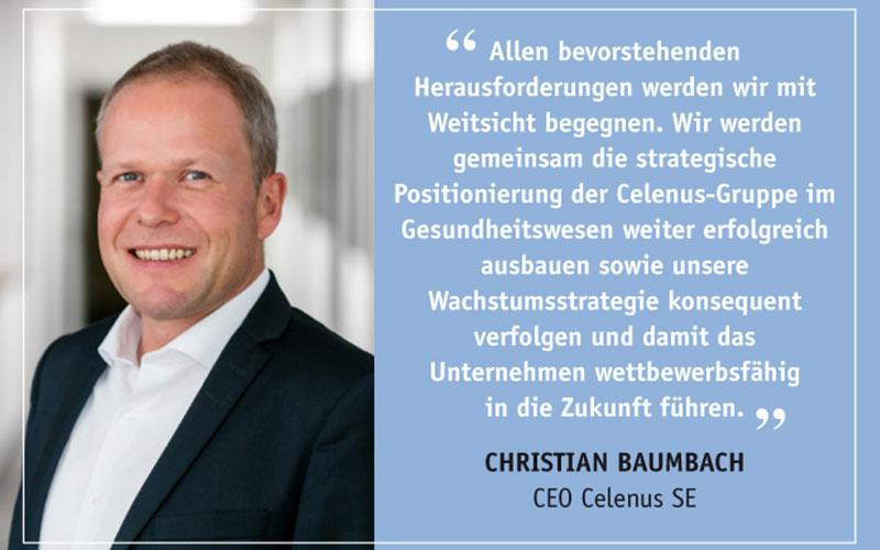 News Celenus Wechsel Vorstand