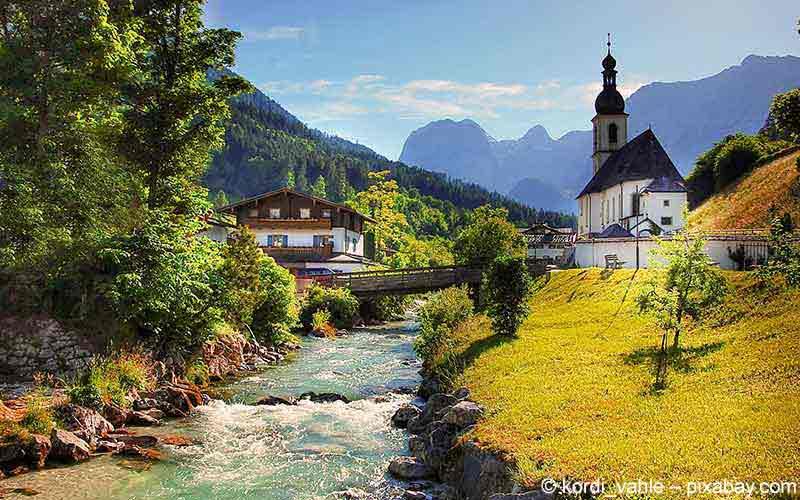 Kurorte in Oberbayern